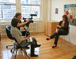 interviewed for Documentary