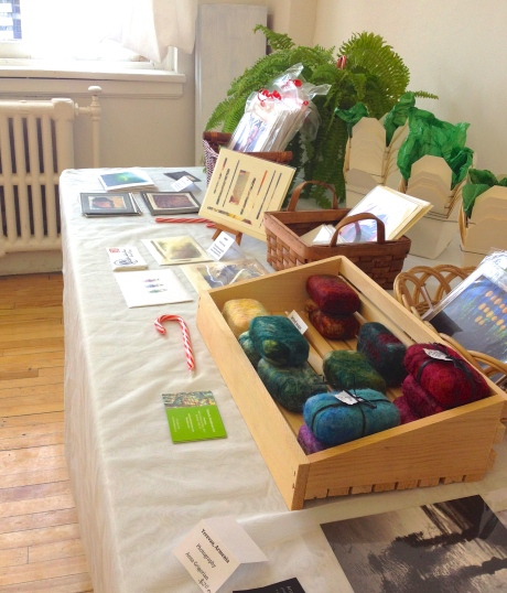 small craft and card table, featuring works from $1-$20